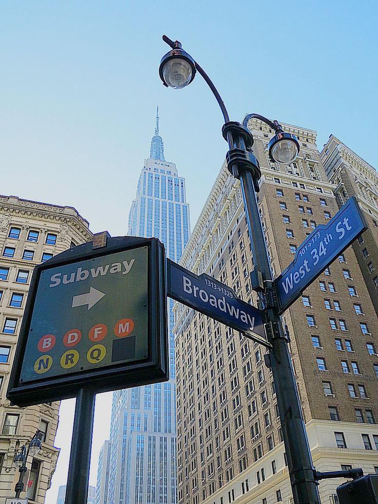 New York City ~ Broadway W34th Street
