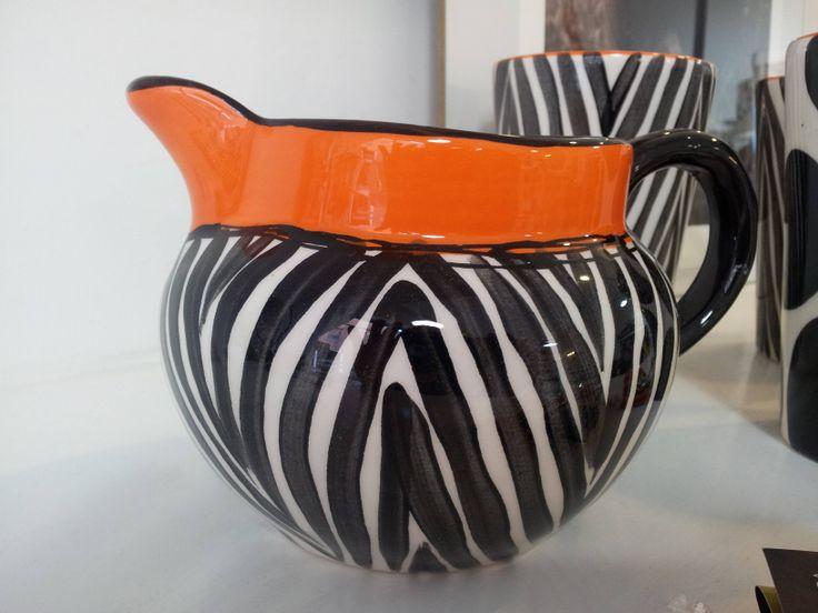 the zebra&cow set from JuliaK: here the farm jug