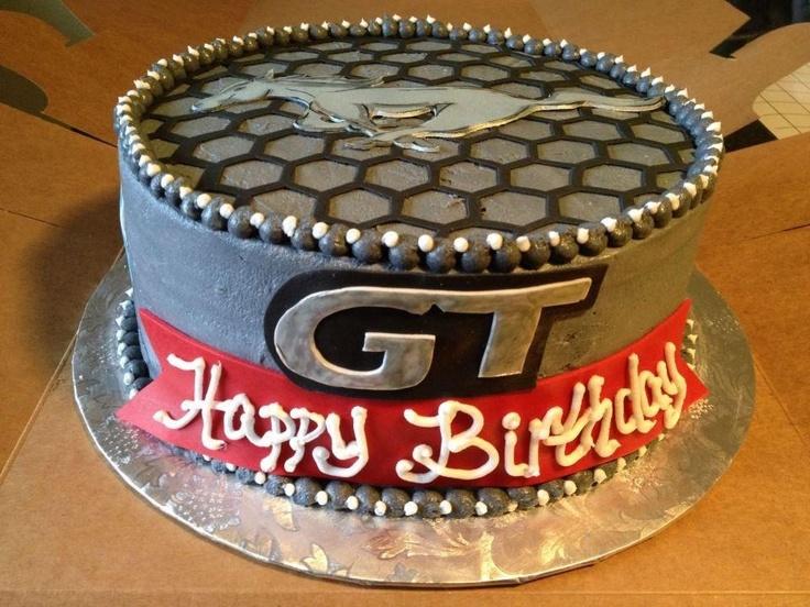 birthday 16th birthday birthday cakes birthday ideas mustang cake ...