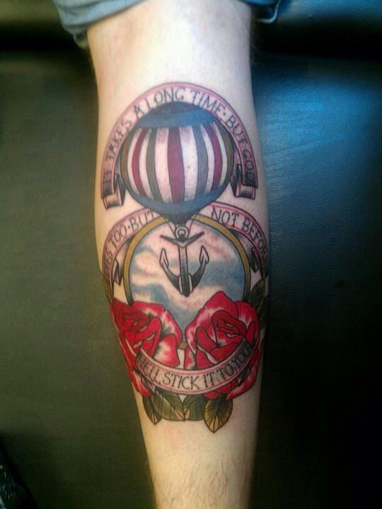 Modest Mouse Tattoo AmericanNeo Traditional Tattoos
