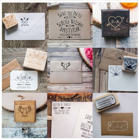 Red Cloud Boutique has a stunning catalog. They've got everything from stationary to handcrafted stamps - what a lovely line of products.