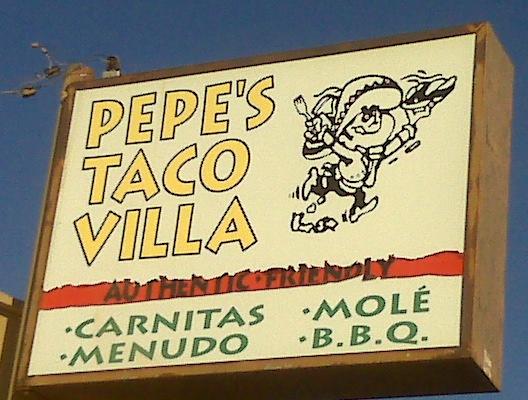 Pepe's Taco Villa, Phoenix, AZ