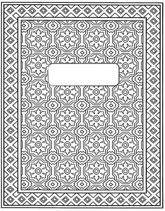 вышивки рисунки для тетрадей на обложку черно белые приспособления перекочевали