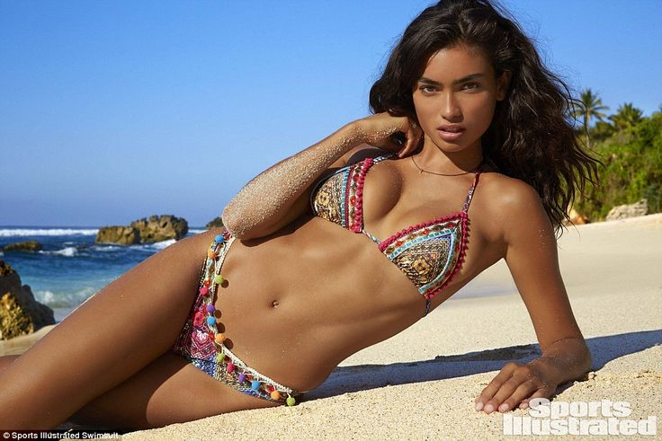 Big break: On the rise model Kelly Gale was the first looker to be named as Sports Illustr...
