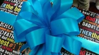 hobby lobby fancy pom pom bow making - YouTube