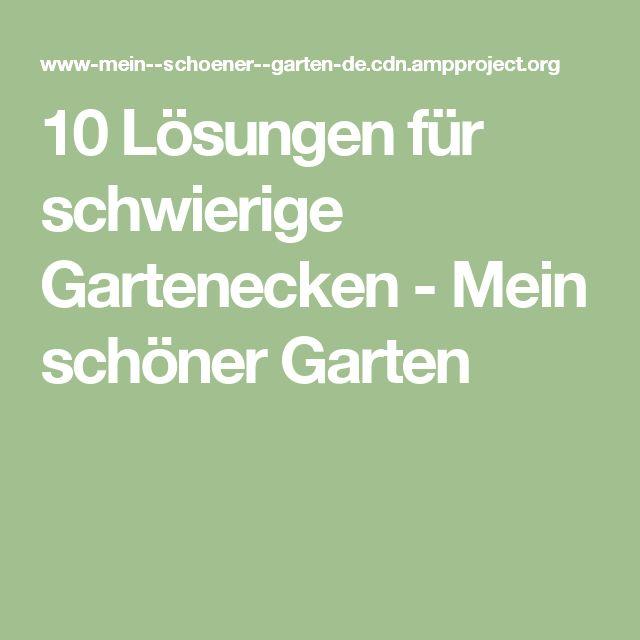 10 lsungen fr schwierige gartenecken mein schner garten - Schone Garten Fur Sparsame