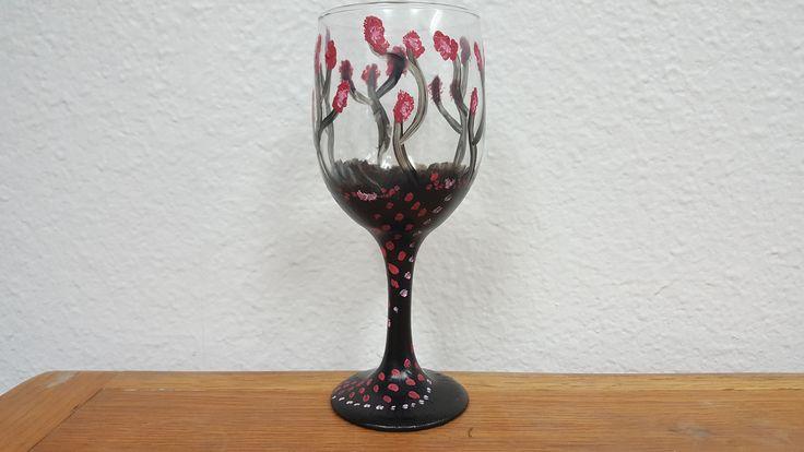 Rose Darkness Glass