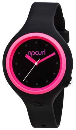 Rip Curl Aurora Watch - Black / Pink For Sale at Surfboards Etc (268755)