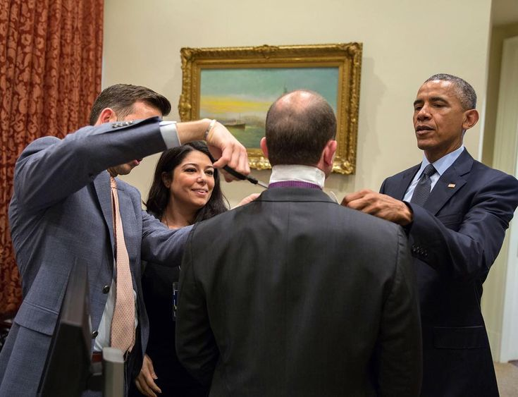 """Pete Souza on Instagram: """"Chaos in the Obama White House!: Ben Rhodes needing help with a new shirt. Left to right: Brian Mosteller, Ferial Govashiri, Rhodes and…"""""""