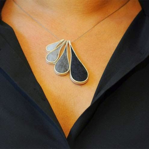 100+ amazing jewelry from felt!   Do it yourself - Construction DIY - Do it yourself    I REALLY LIKE THIS ONE