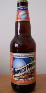 Blue Moon - Harvest Moon Pumpkin Ale