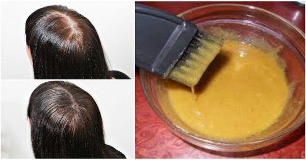 Горчица с сахаром творит чудеса! Густые волосы всего за месяц и очень быстрый рост.