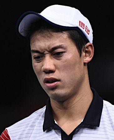 錦織、決勝進出ならず=テニス【AFP=時事】