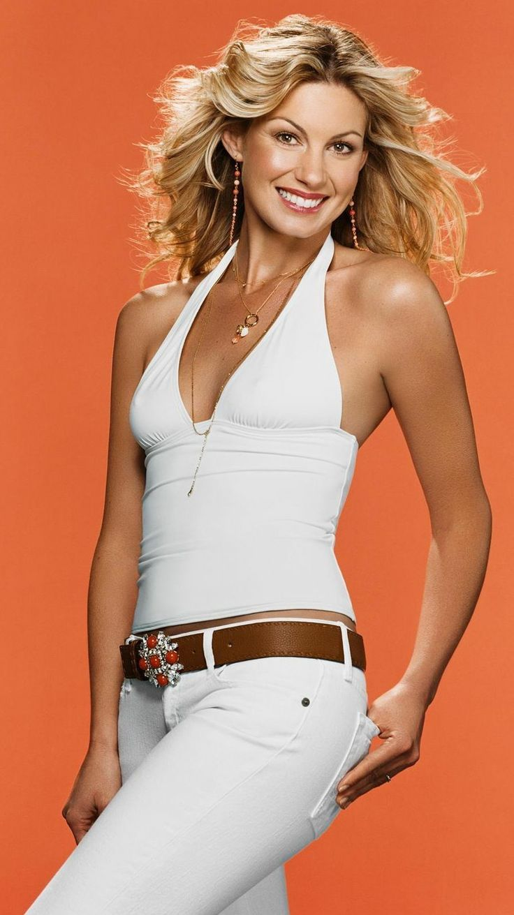 Faith Hill...she is absolutely gorgeous!