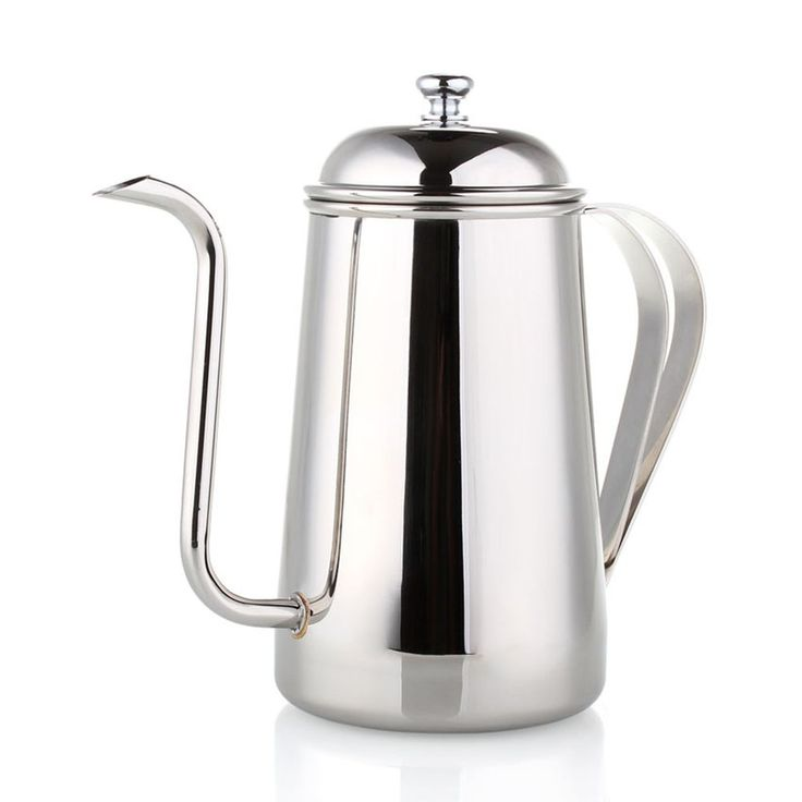 1Pc Stainless steel hand drip coffee pot,coffee kettle,700ml