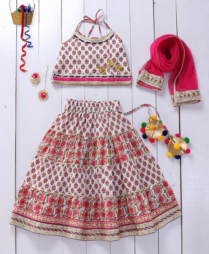 Pspeaches White Gota Work Layered Lehenga  #girlslehenga #traditionallook