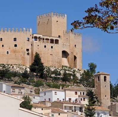 Velez Blanco castle and village.
