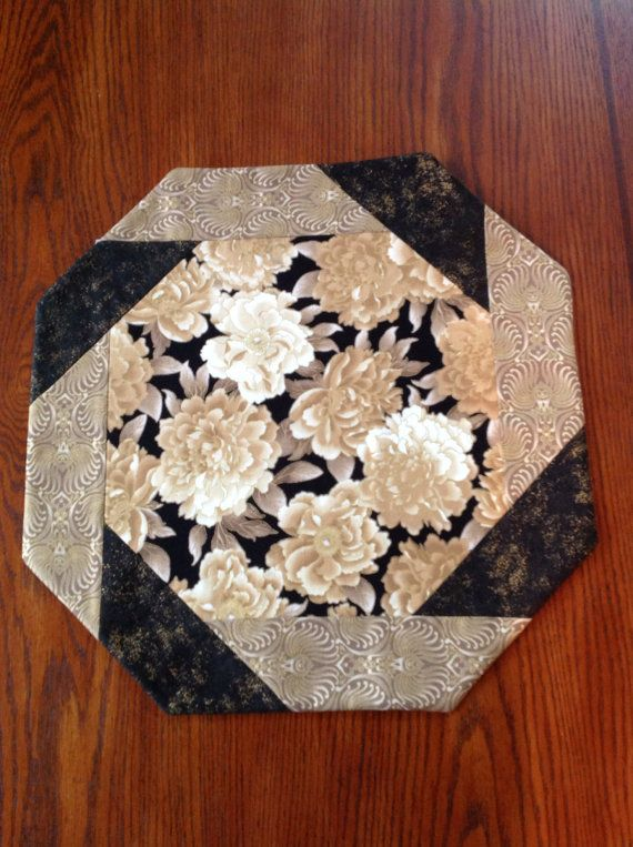 Elegant Floral Table Topper by AlidanCreations on Etsy, $18.00