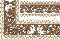 Assisi Embroideries Plate 017
