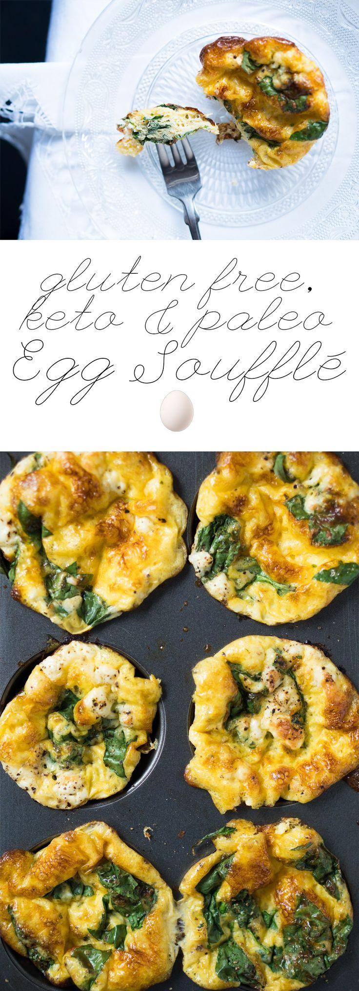 Breakfast Egg Soufflé Cups gluten free, keto & paleo
