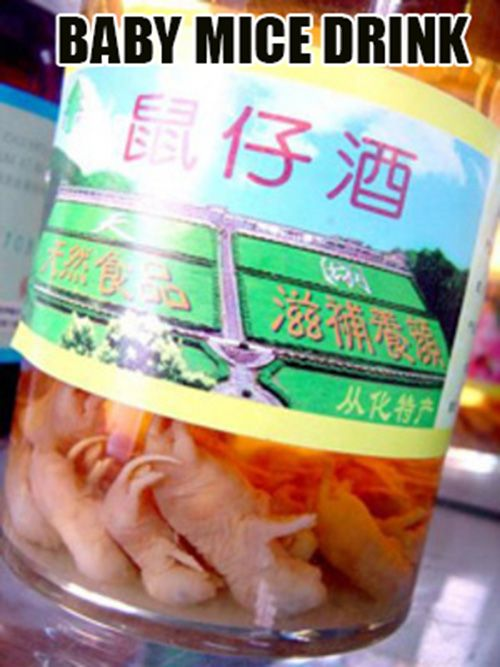 The Top Ten Weird and Bizarre Chinese Soft Drinks
