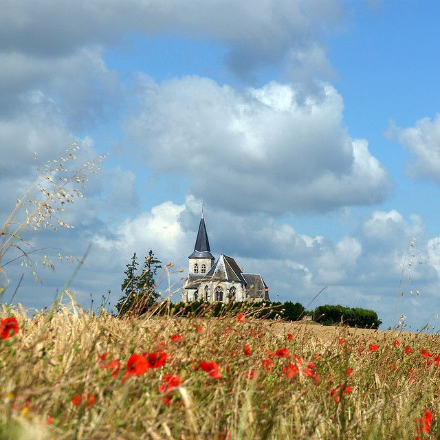 Saint-Sulpice's church in #picardie