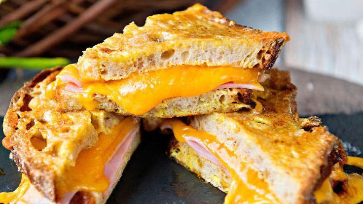 Åtte sprø og deilige ostesmørbrød
