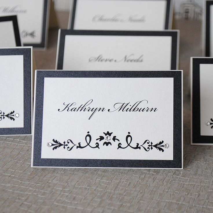 Exclusive handmade wedding place cards and gorgeous luxury wedding  stationery handcrafted in the UK by Wedding