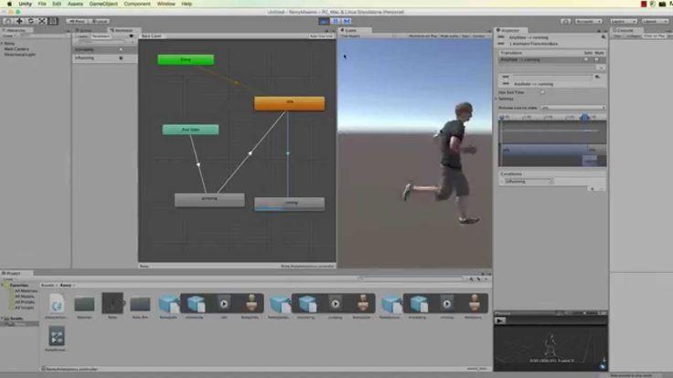 The Basics of Unity 5 Mechanim: Make and Animate a Player Character