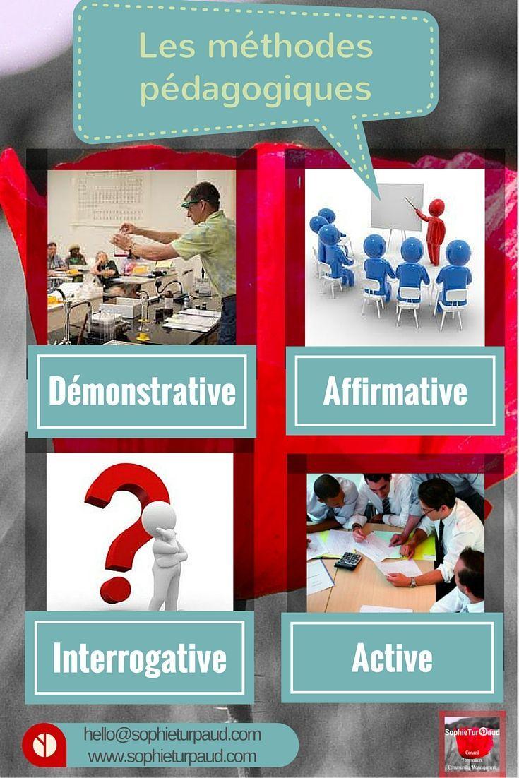 Reperer Les 4 Principales Methodes Pedagogiques En Formation Formation De Formateur Ingenierie Pedagogique Formation Enseignant