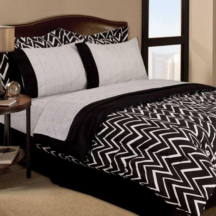 Weiße Möbel: Wunderschöne Weiß Und Schwarz Schlafzimmer Sets Teenager