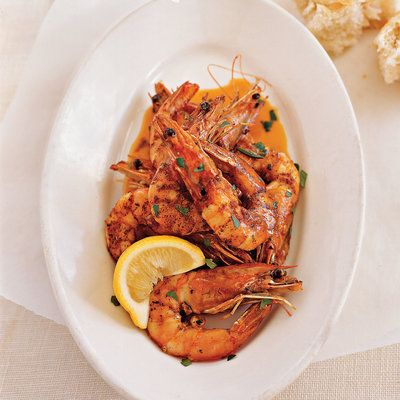 Fresh Gulf Shrimp in Barbecue Butter recipe