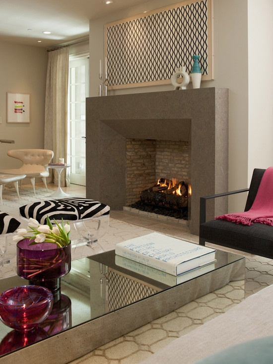 146 best Contemporary Fireplace Designs images on Pinterest