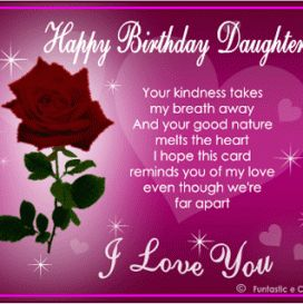 birthday greetings for daughter from mom 1 272x273 | funny ...