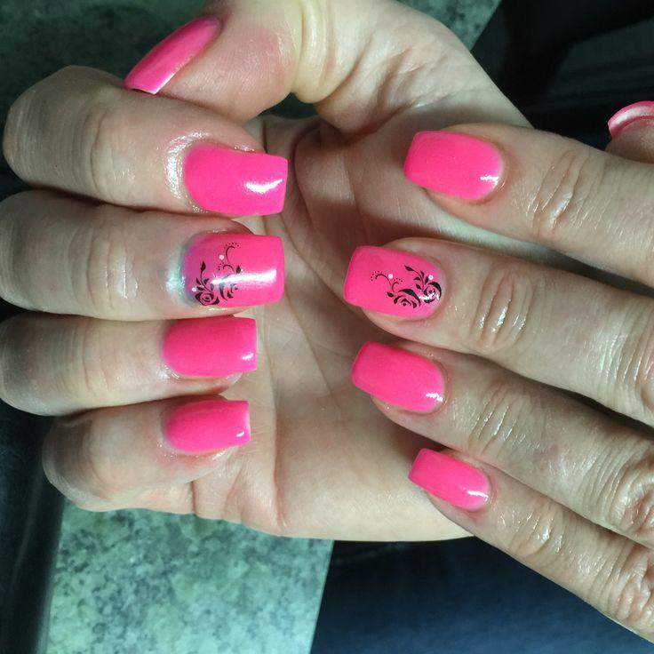Gel nails Tuff enuff nails