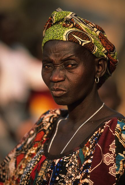 Beautiful Woman Guinea Guinea Bissau 54