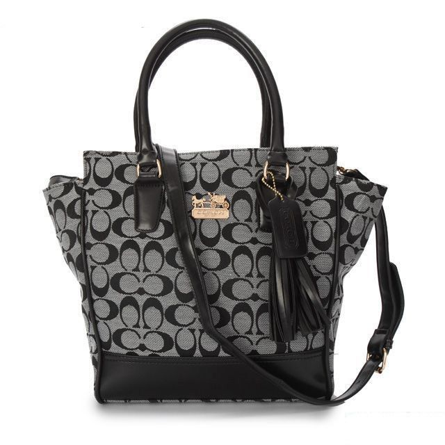 #Coach Purses Cheap And Best Coach Legacy Tanner In Signature Small Grey