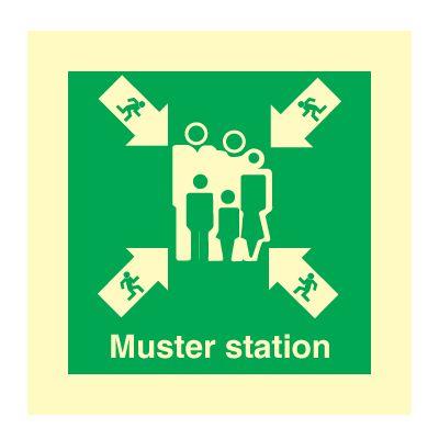 Muster Station Symbol