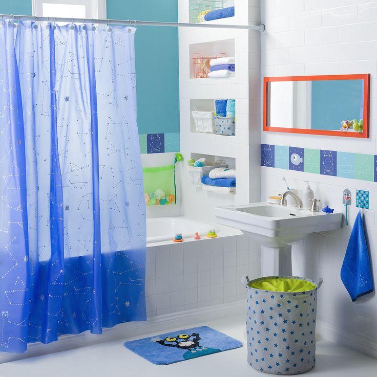 Todo lo necesario para mantener organizado el baño de tu hijo está en Casaideas.