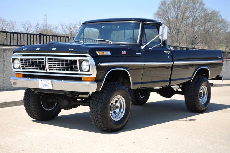 hard to find a classic ford truck in this shape | Related Pictures 1970 ford f 250 4x4
