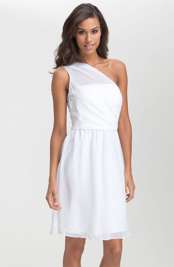Nordstroms, cute white summer cocktail dress