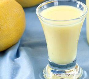 receta crema de limoncello