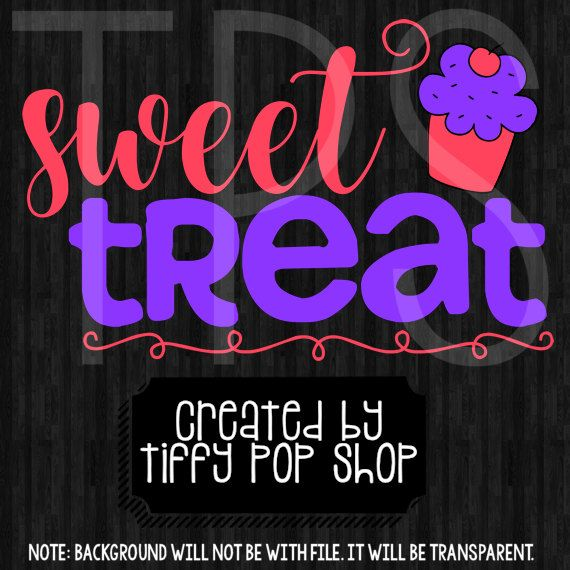 Download 2 Sweet Treat Files, Cricut, Silhouette Cameo, SVG, png ...