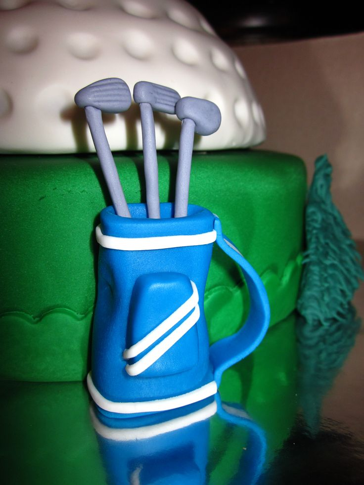Cake Decorating Golf Figures : 68 best images about Fondant Cake Decorations on Pinterest ...