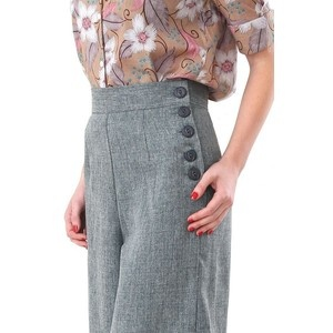 1940's style tweed trousers