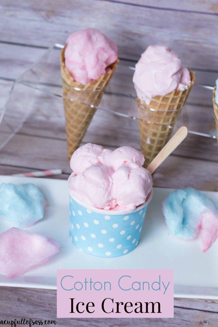 cotton candy ice cream