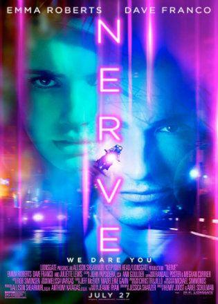 Nerve 2016 Full Movie BRRip 480p English 300Mb ESub