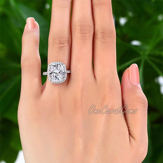 1000 ideas about Rectangle Engagement Rings on Pinterest