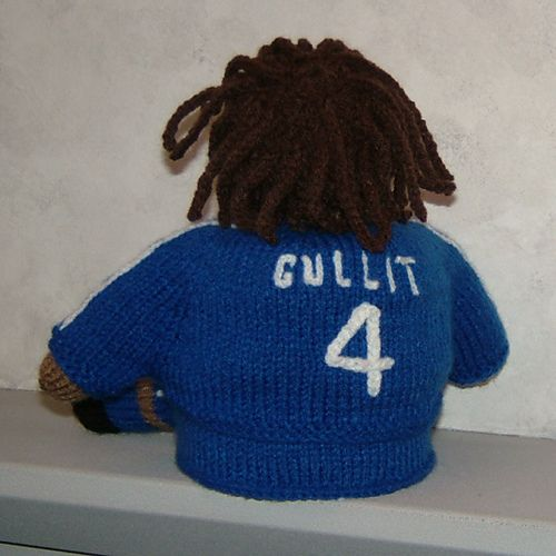 Ruud Gullit - Toilet roll cover made for Sky Sports