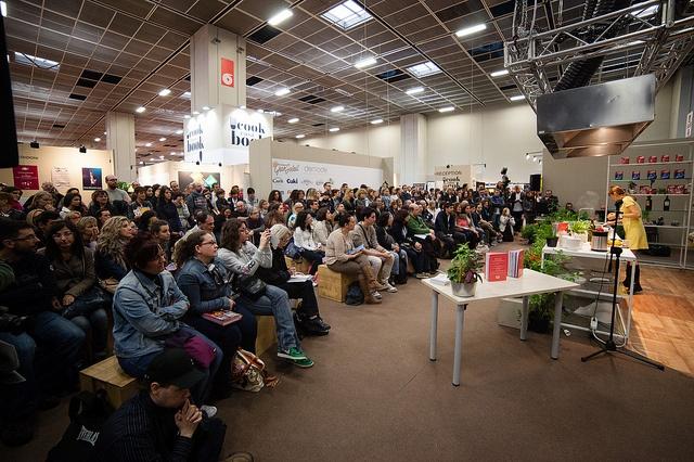 Casa CookBook nel Padiglione 3 al Salone Internazionale del Libro 2013 - Benedetta Parodi  #lingottofiere #salto13